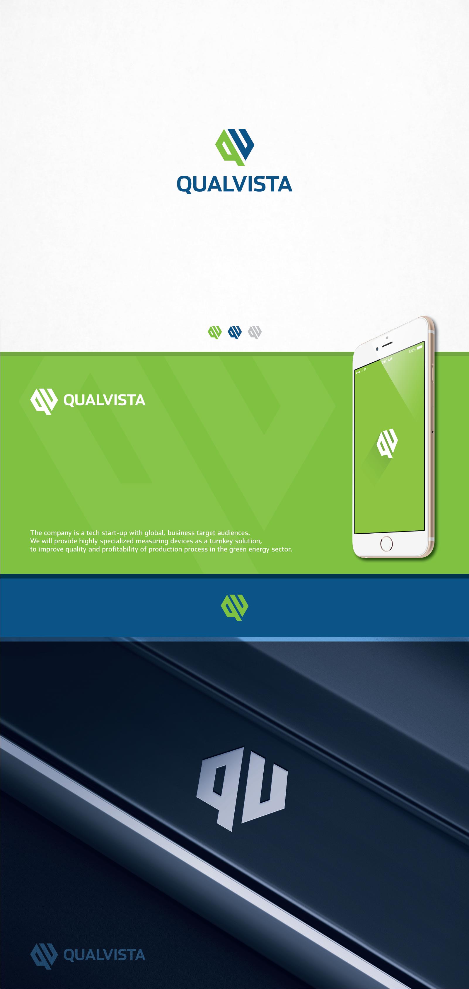 Create a stylish logo for a green tech start-up