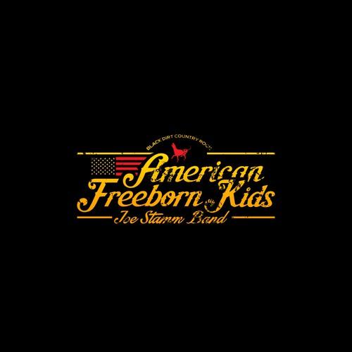 Vintage-style logo for Joe Stamm Band