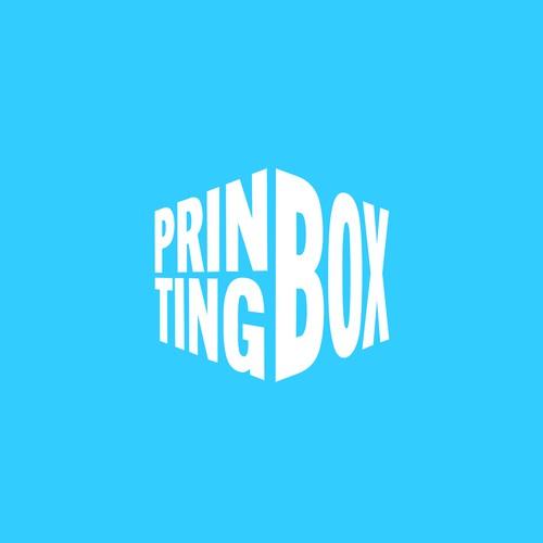 Bold logo for a printing company