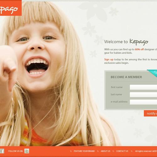 website design for Kepago