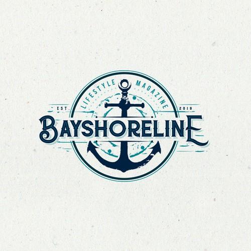 Sea style logo design
