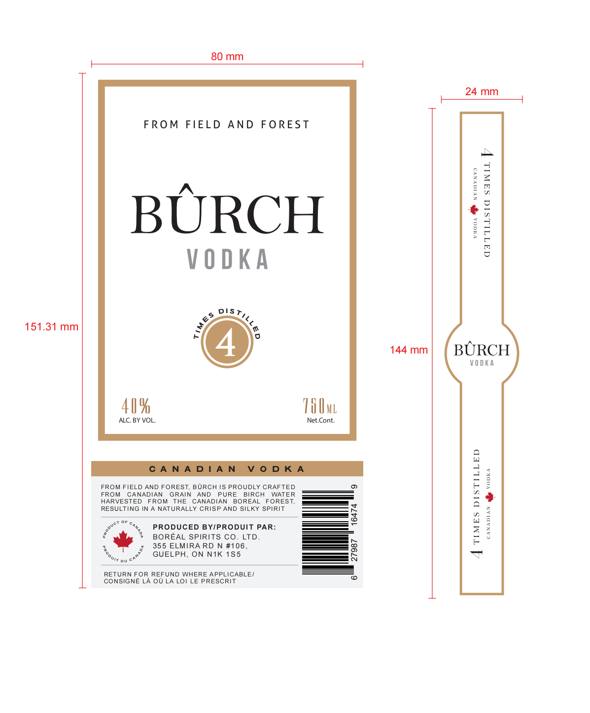 regulatory changes to burch vodka