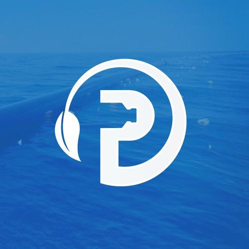 Logo design for plastic-bottle recycle