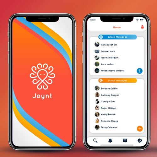 Joyn Mobile App Design