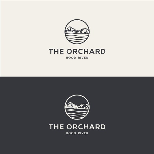 Logo for a wedding and event space