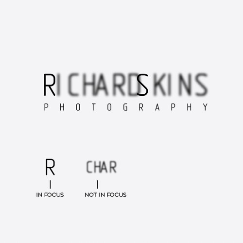 Create a fresh and striking brand identity for Richard Skins Photography
