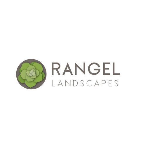 Finalist logo for landscaping firm