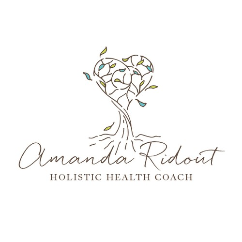 Amanda Ridout - logo for holistic health coach