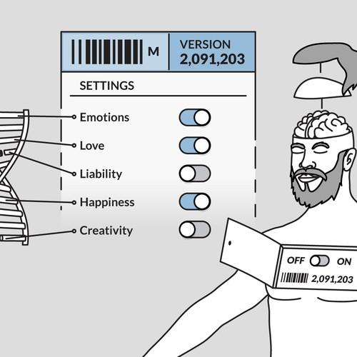 Illustration for Tech Blog