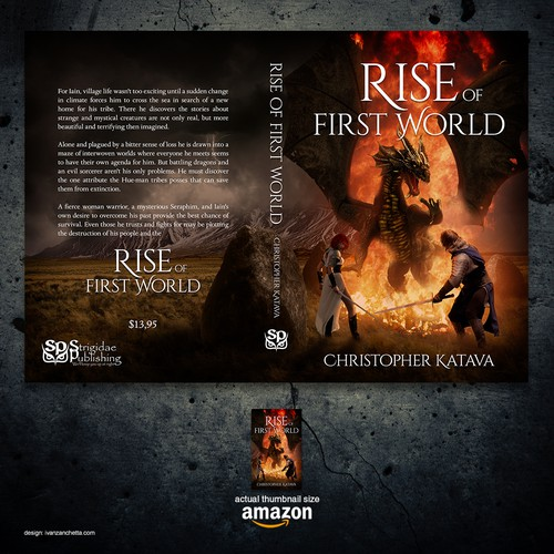"Book cover for ""Rise of First World"""