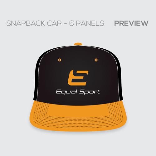 Equal Sport snapback cap design