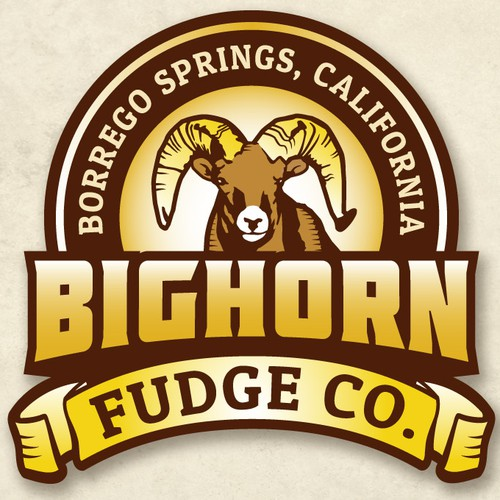 New logo wanted for Bighorn Fudge Co., Borrego Springs, California