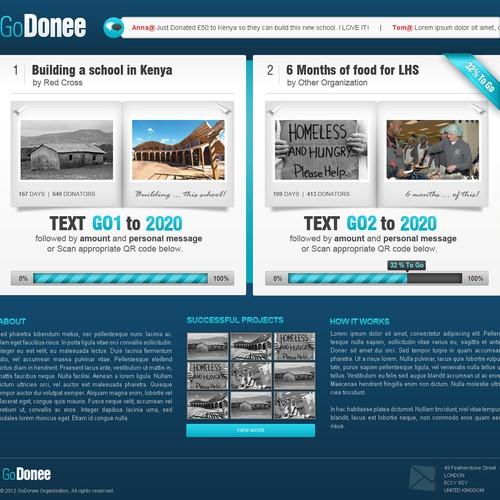 Entrepreneurial Charity fundraiser for GoDonee!