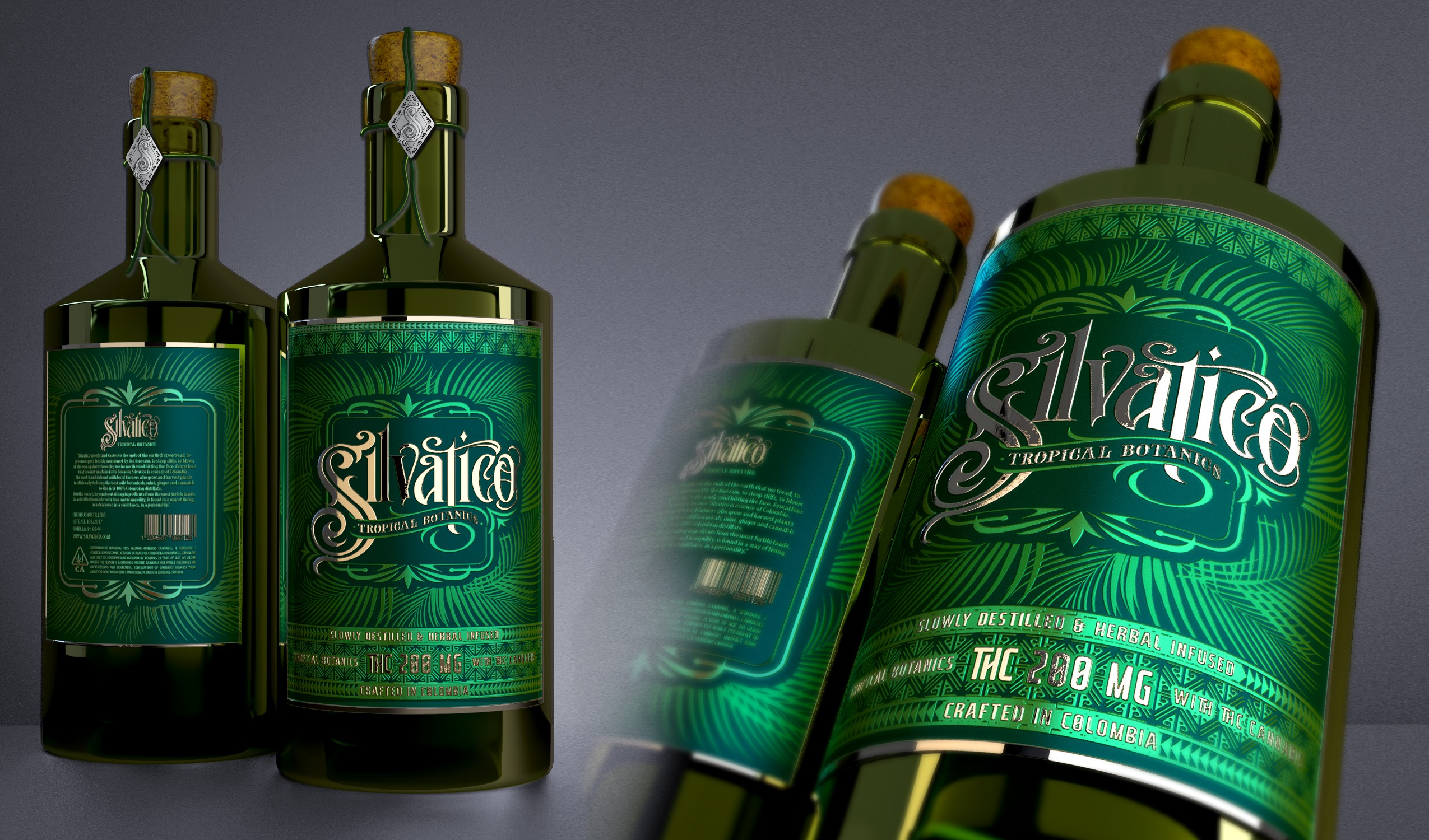 Redesign Label Silvativo and Packaging