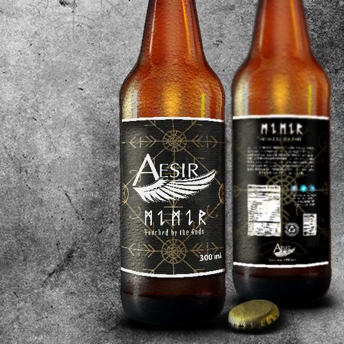 Aesir label design
