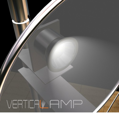 Vertical lamp - product design