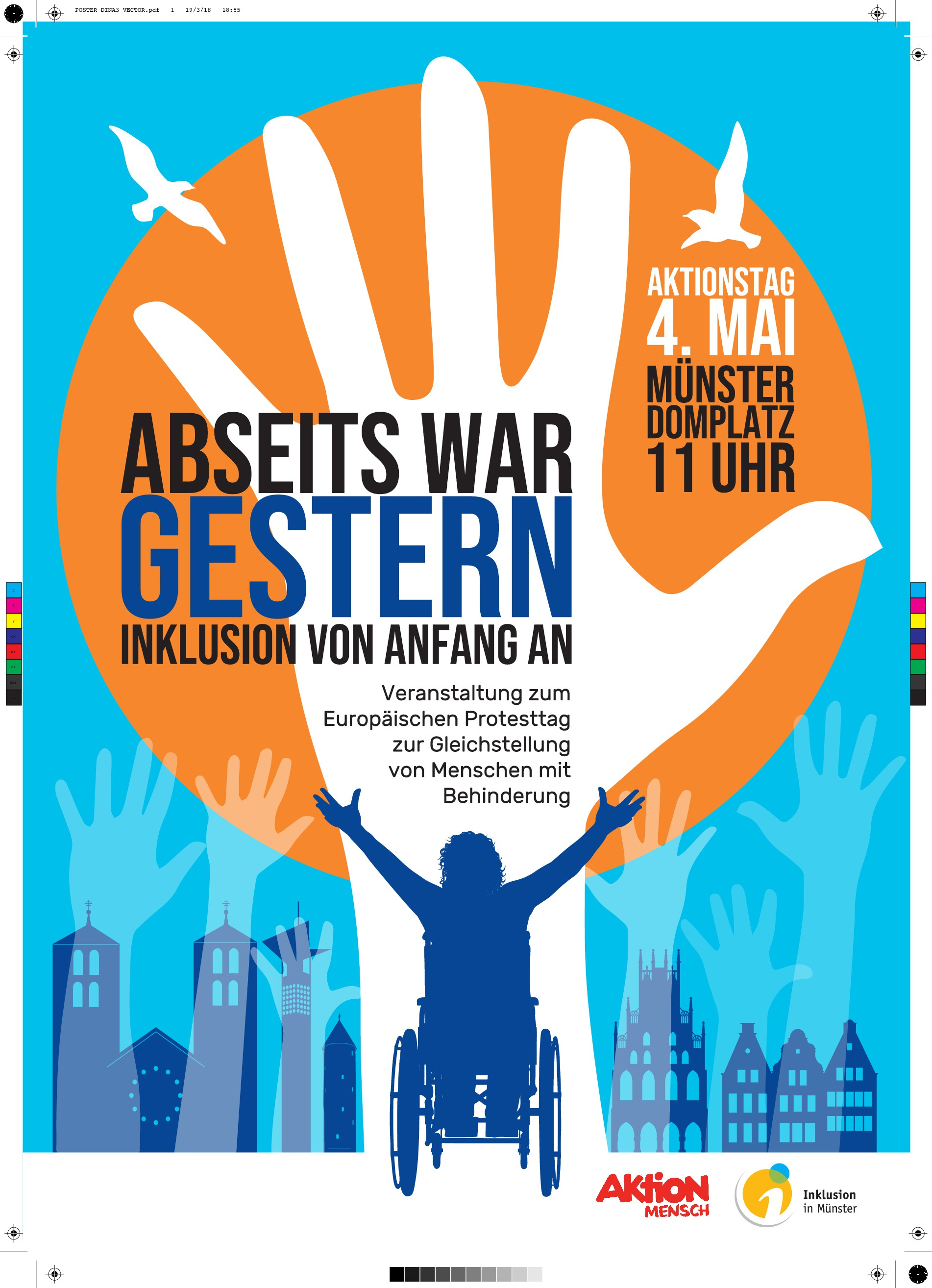 People with disabilities in Münster, Germany need you!