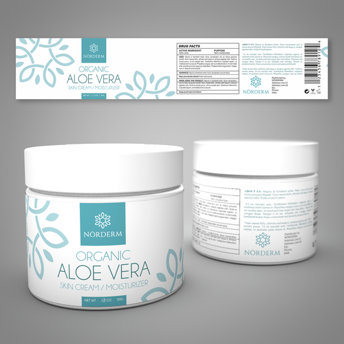 Concept for Aloe Vera mousturizer