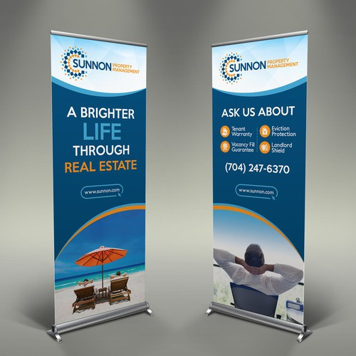 Standout Event Banners & Rack Cards