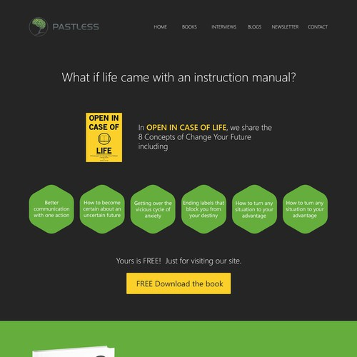 Web design for Pastless