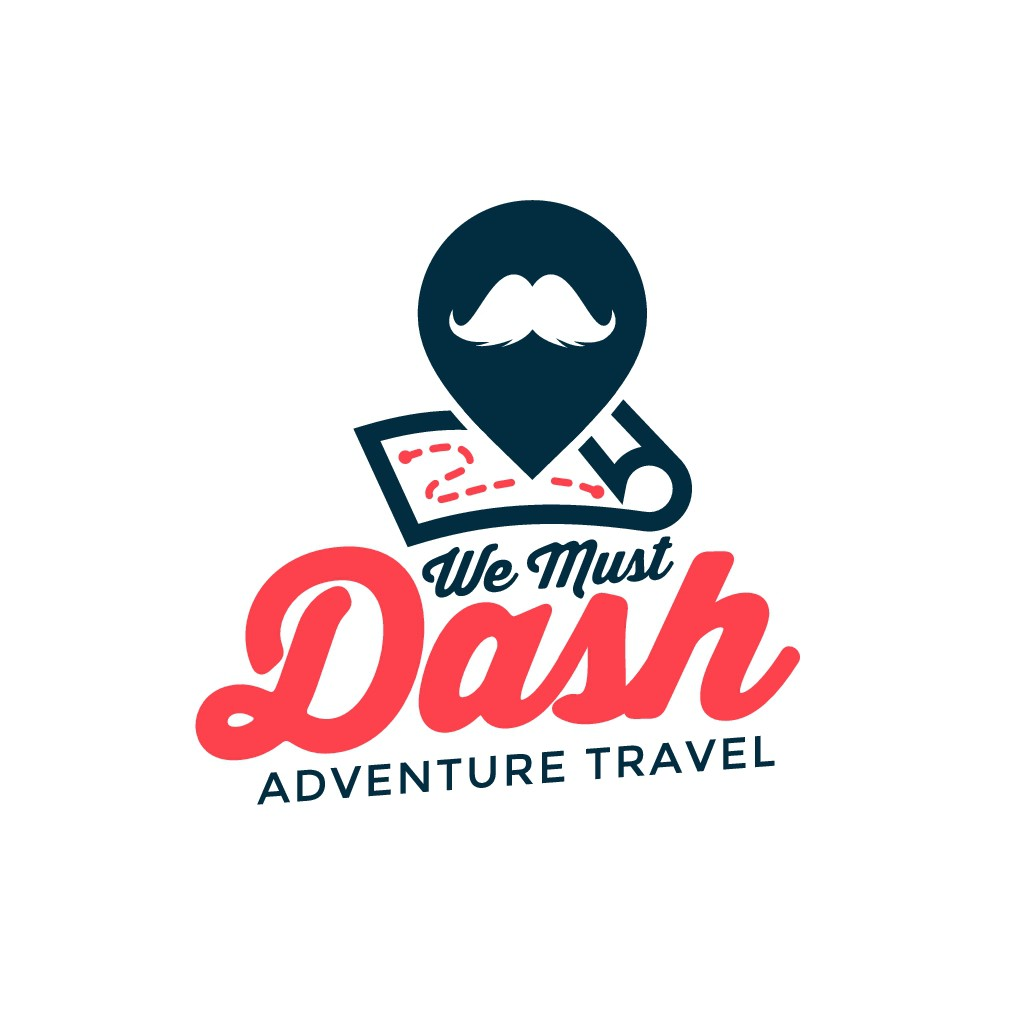 We Must Dash - Fun group travel startup, looking for logo!