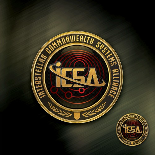 Superb logo for ICSA Online Game