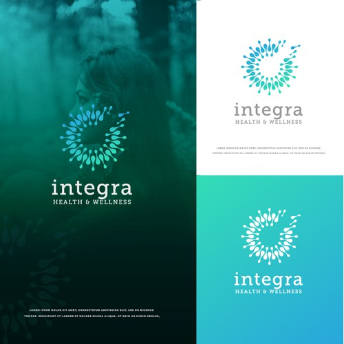 Upscale logo design for Integra