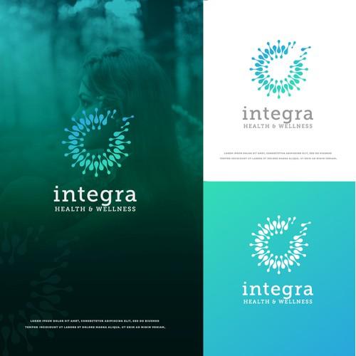 Upscale logo design for Integra