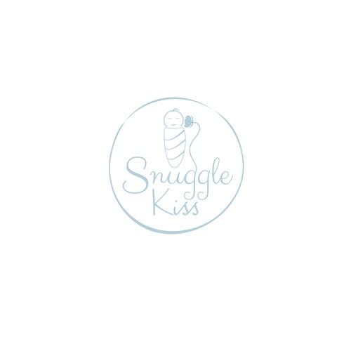 cute logo for Snuggle Kiss