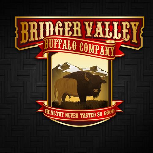 Bridger Valley Buffalo Company needs a new logo