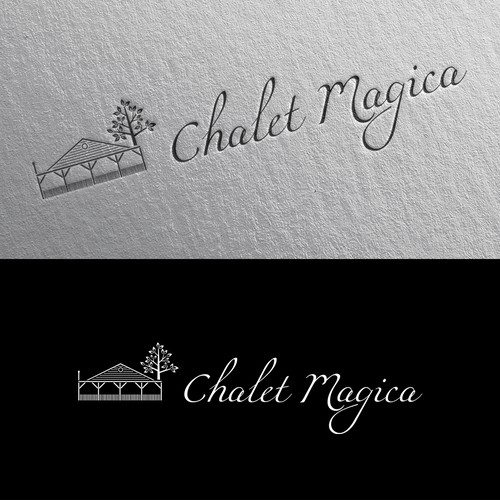 Peaceful Logo Concept for Chalet Magica