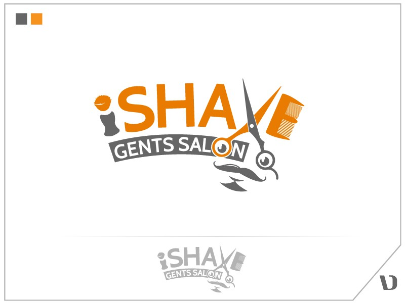 "Creative logo needed for  ""iShave Gents Salon"""