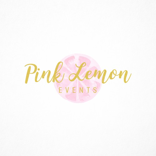 Logo for Pink Lemon Events