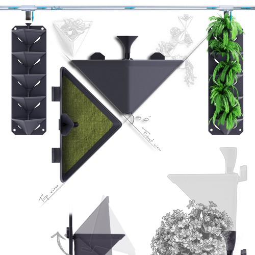 Design of a living wall system