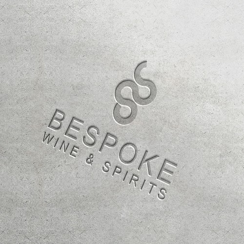 Bold logo for winery