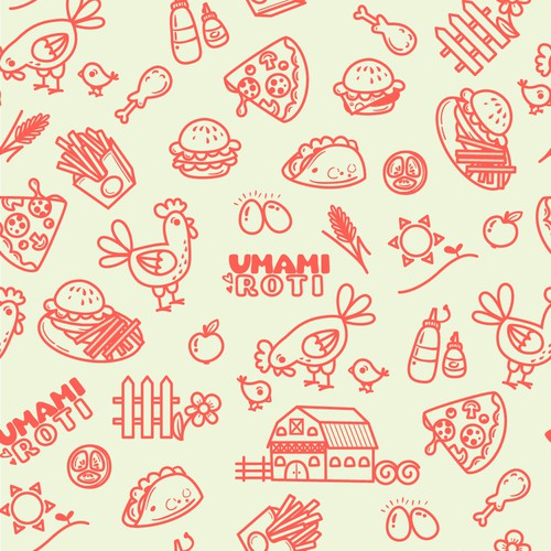 Brand Pattern For Rotisserie Chicken Lifestyle Company