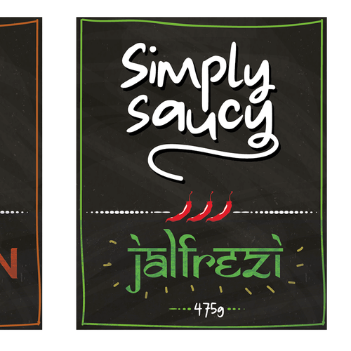 Design of new packaging for a Range of Cooking Sauces