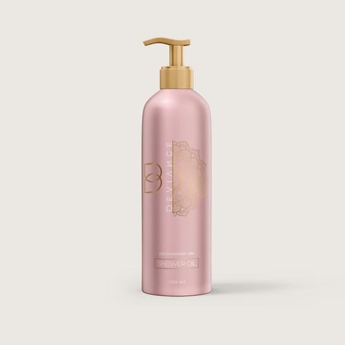 High end aromatherapy spa body wash
