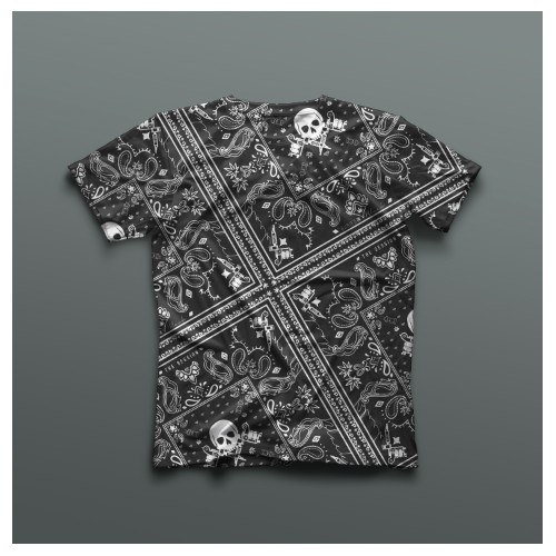 Paisley Pattern for Buried in Black