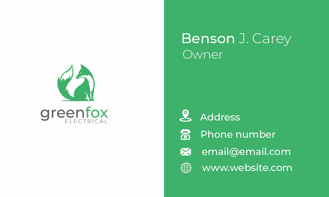Logo and Business Card project