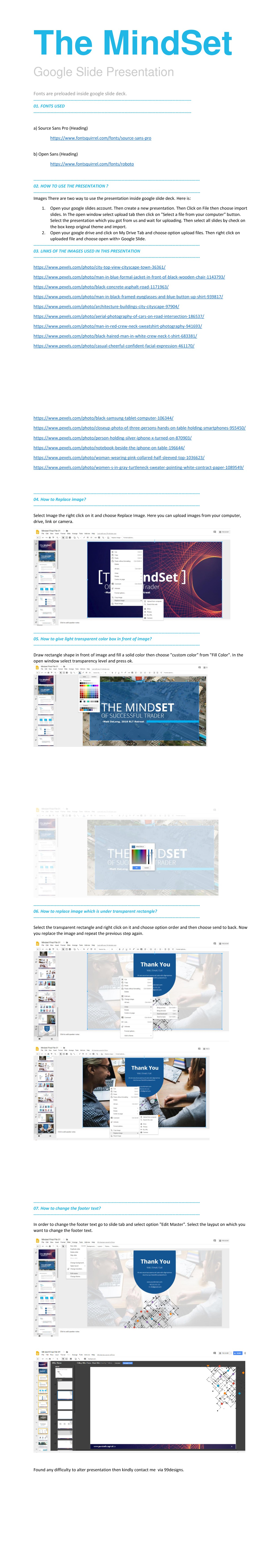 The MINDSET of a Successful Trader Powerpoint