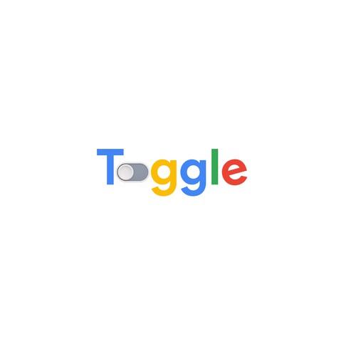 simple google inspired logo