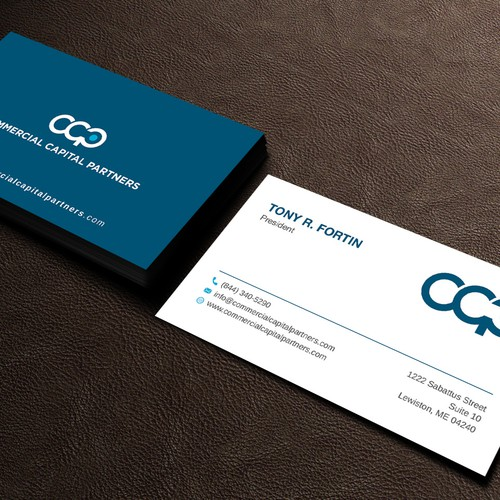 Business card design for Commercial Capital Partners