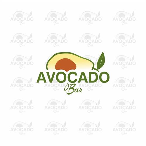 Logo concept for Avocado Bar