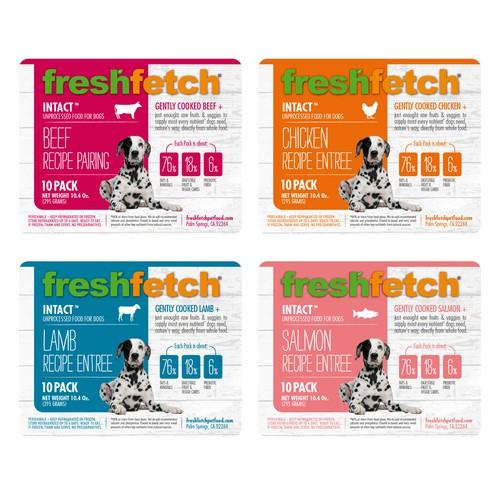Design a base label for our new product line: Intact!