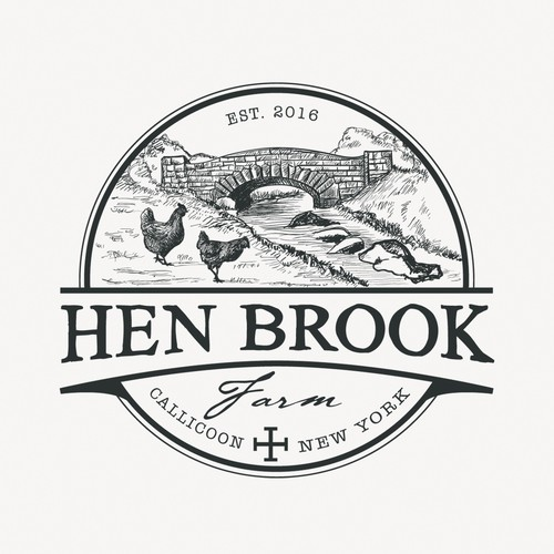 Logo for Hen Brook Farm