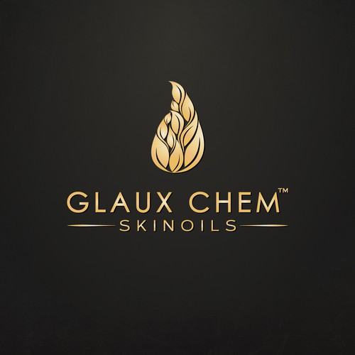 Logo design for Glaux Chem
