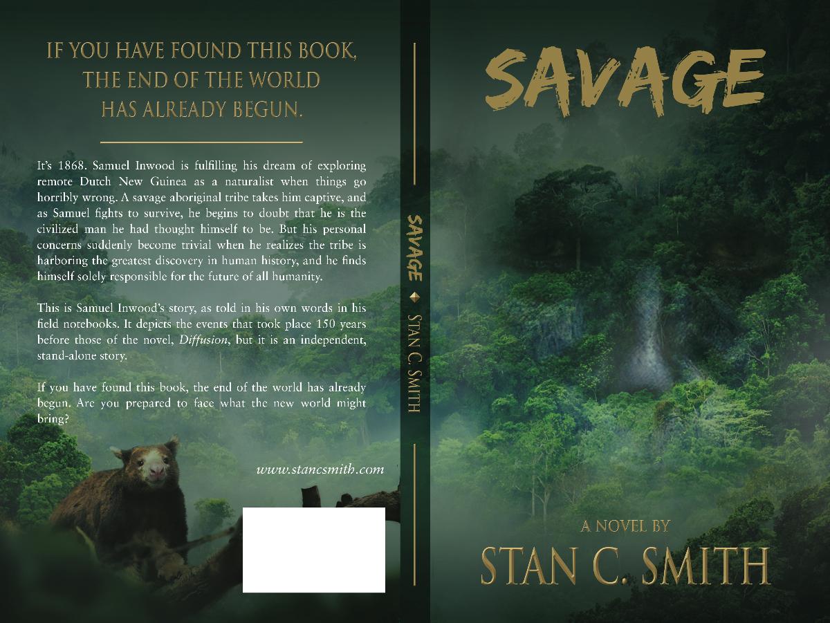 Repurpose Diffusion cover for novel, Savage