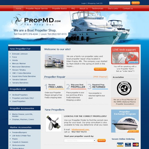 Website Design - PropMD