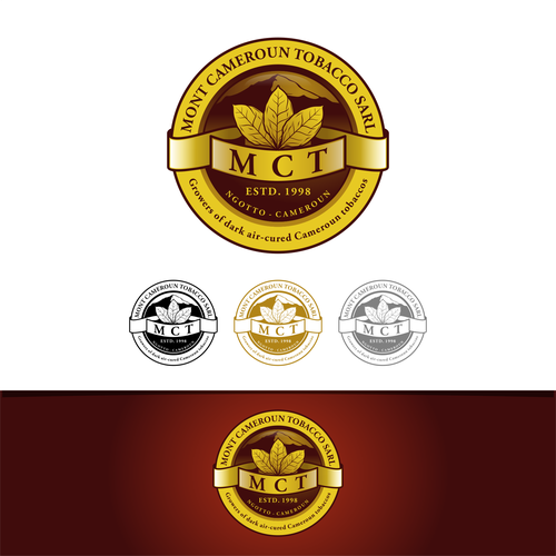 Classy Logo Design For Mont Cameroun Tobacco